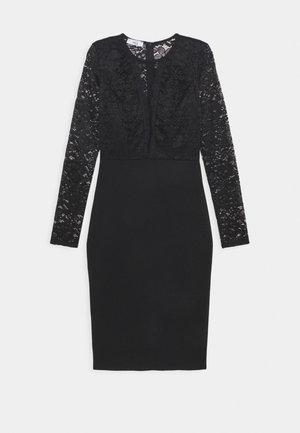ANALIA LONG SLEEVE MIDI DRESS - Cocktail dress / Party dress - black