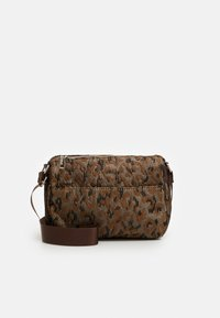 TERRA LEOPARD - Across body bag - silver/brown/multi