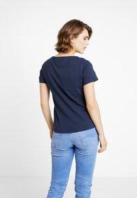 Tommy Jeans - SOFT TEE - Camiseta básica - black iris - 2