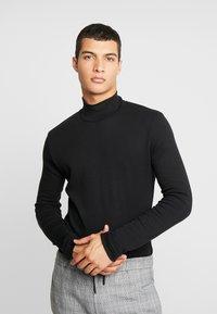 Samsøe Samsøe - MERKUR  - Stickad tröja - black - 0