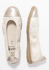 Jana - Ballet pumps - gold - 3