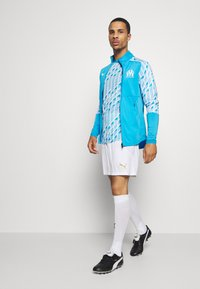 Puma - OLYMPIQUE MARSEILLE STADIUM - Club wear - bleu azur/white - 1