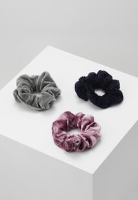 Abercrombie & Fitch - 3 PACK - Hair styling accessory - pink/black/grey - 3