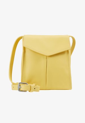 BAG SHOULDER STRAP - Across body bag - yellow