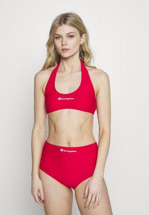 HALTERNECK SET - Bikini - red