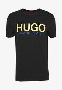 HUGO - DOLIVE - T-Shirt print - black - 3
