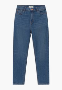 Lindex - MOM MADISON - Relaxed fit jeans - dark denim - 0