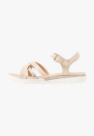 HIVER - Sandals - skin/champagne