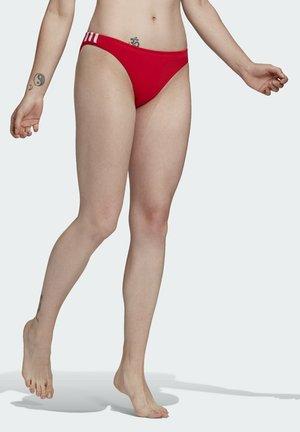 Bikini bottoms - red
