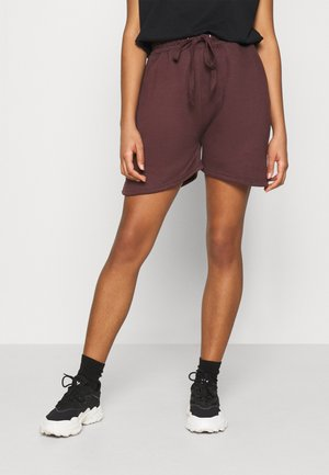 OVERSIZED LONG LINE - Joggebukse - burgundy