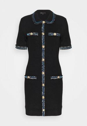 RAVENA - Jumper dress - noir