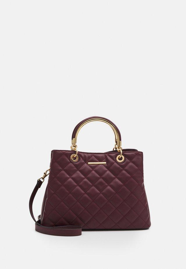 UNAOVIA - Handbag - bordo