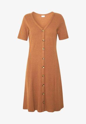 VICONIA DRESS - Žerzejové šaty - rawhide