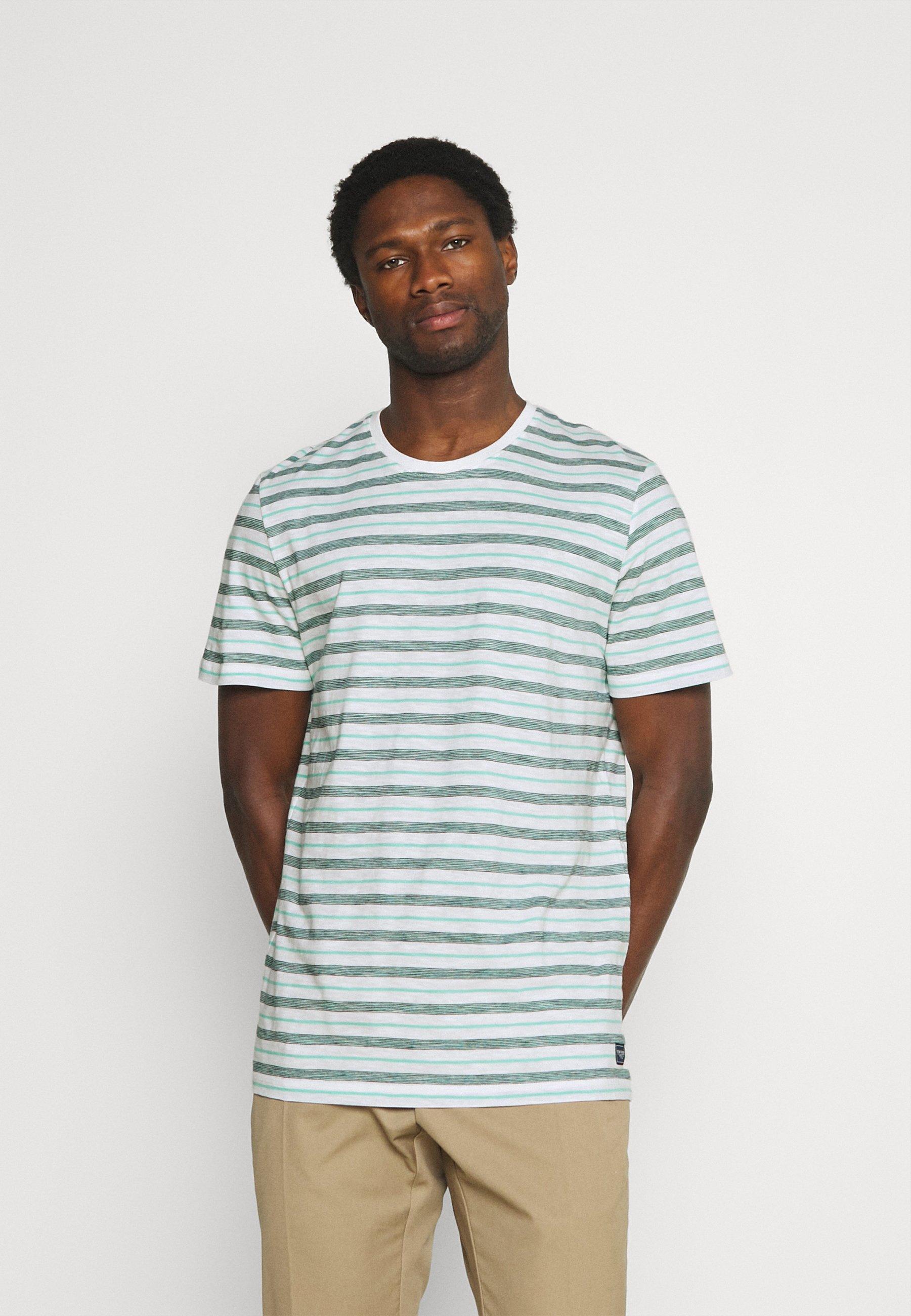 Homme STRIPED - T-shirt imprimé