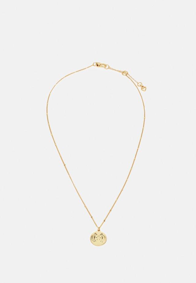 GEMINI PENDANT - Collier - gold-coloured