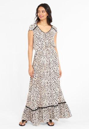 Maxi dress - sand bedruckt
