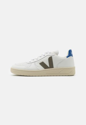 Baskets basses - extra white/kaki/indigo