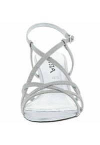 Vista - GLITZEROPTIK  - High heeled sandals - silber - 3