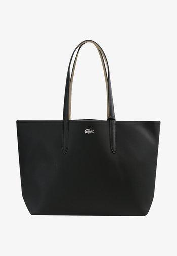 SET - Handbag - black warm sand