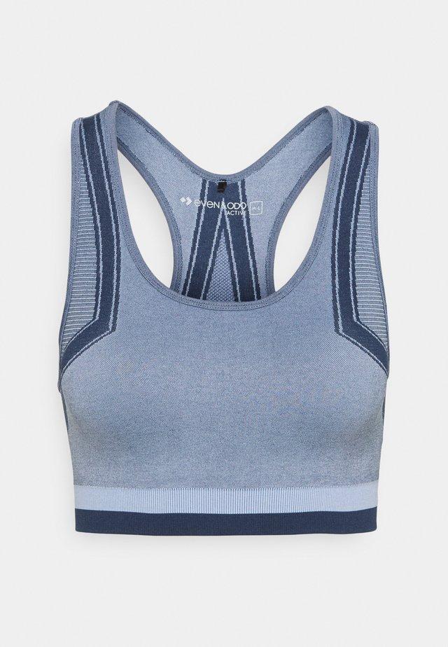 Sports bra - blue/dark blue