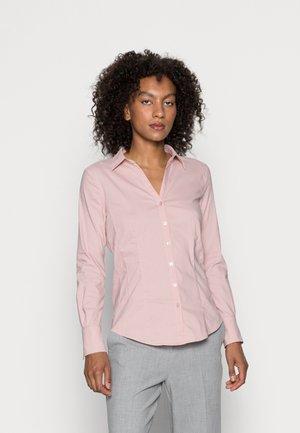 BLOUSE - Button-down blouse - fresh rose