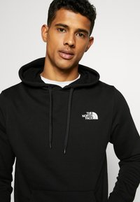 The North Face - GRAPHIC HOODIE - Luvtröja - tnf black/tnf white - 3
