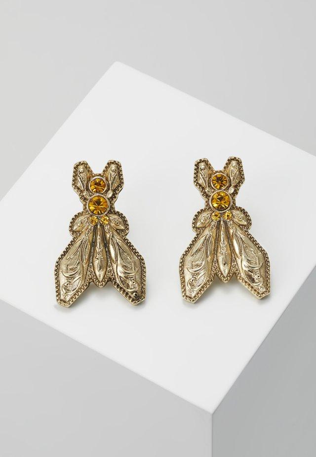 ORECCHINI FLY - Øredobber - amber