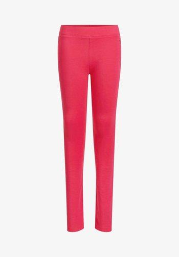 MEISJES SKINNY FIT - Leggings - Trousers - salmon pink