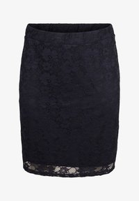 Zizzi - Pleated skirt - blue - 3