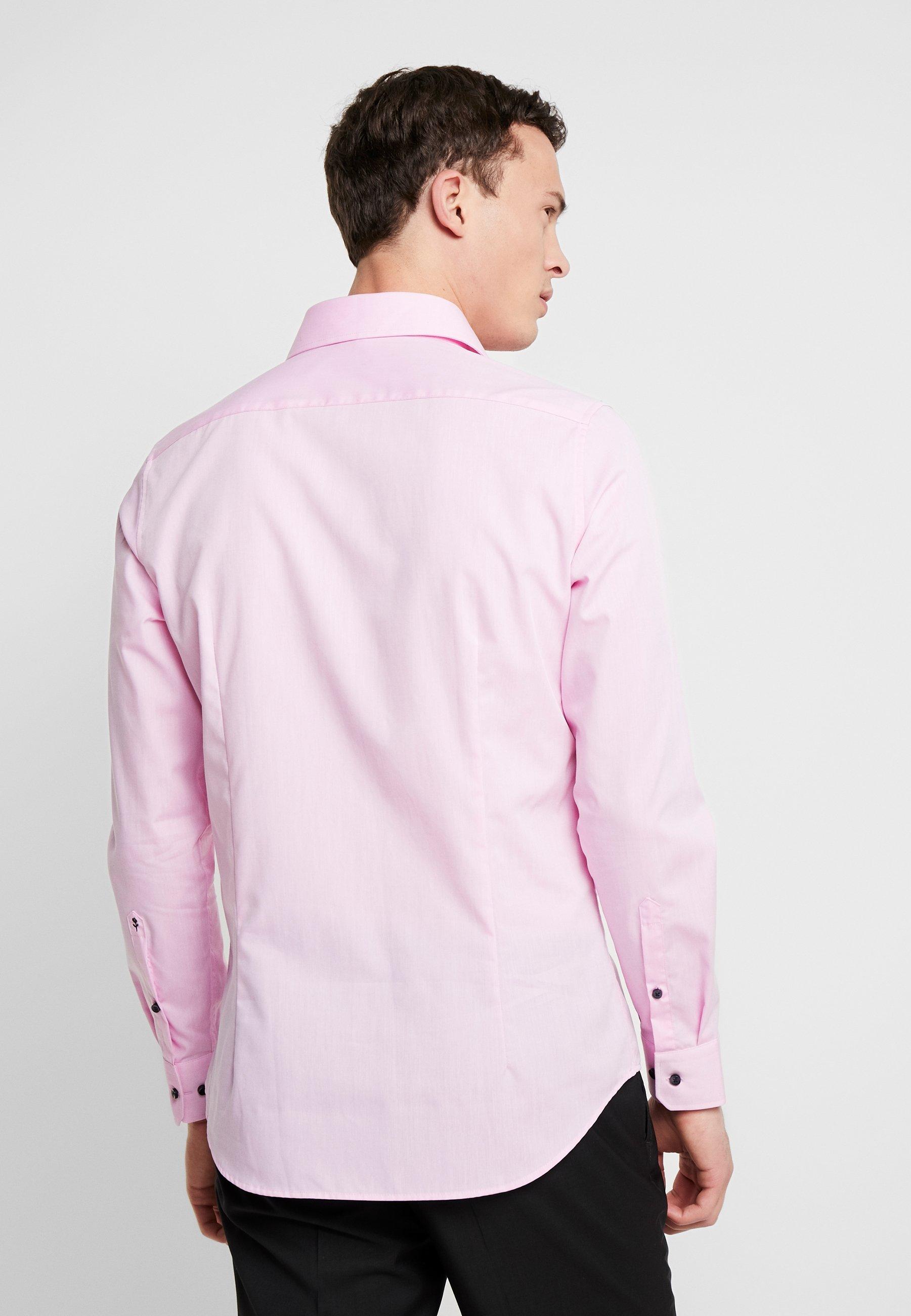 Seidensticker SLIM FIT SPREAD KENT - Chemise classique - light pink