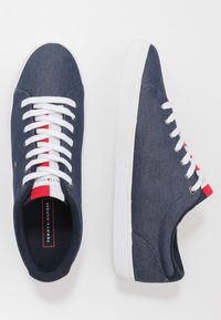 Tommy Hilfiger - ESSENTIAL LONG LACE - Sneakersy niskie - blue - 1