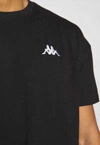 Kappa - VEER - T-shirts basic - caviar - 5