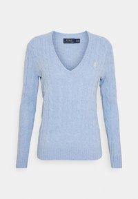 Jumper - light blue heather