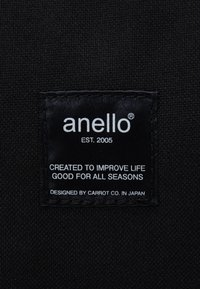 anello - SQUARE BACKPACK UNISEX - Tagesrucksack - black - 4