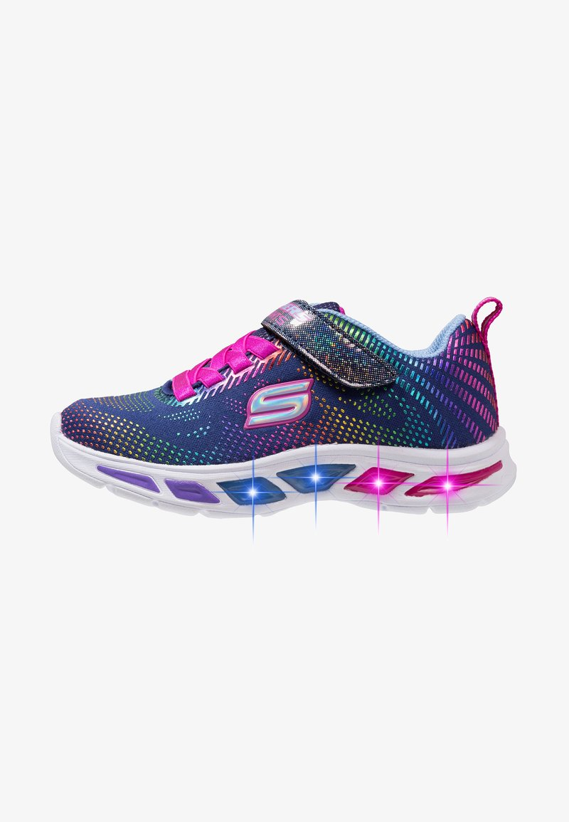 Skechers - LITEBEAMS - Tenisky - navy/multicolor