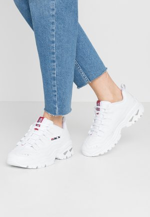 ENERGY - Sneakers laag - white/red/navy