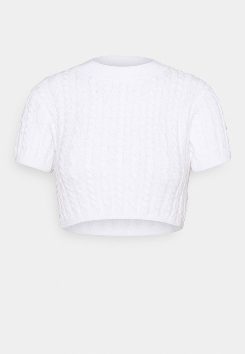 Glamorous Petite - CROPPED TOP  - Pullover - white