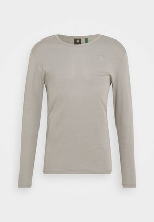 BASE R T L\S  - Long sleeved top - charcoal