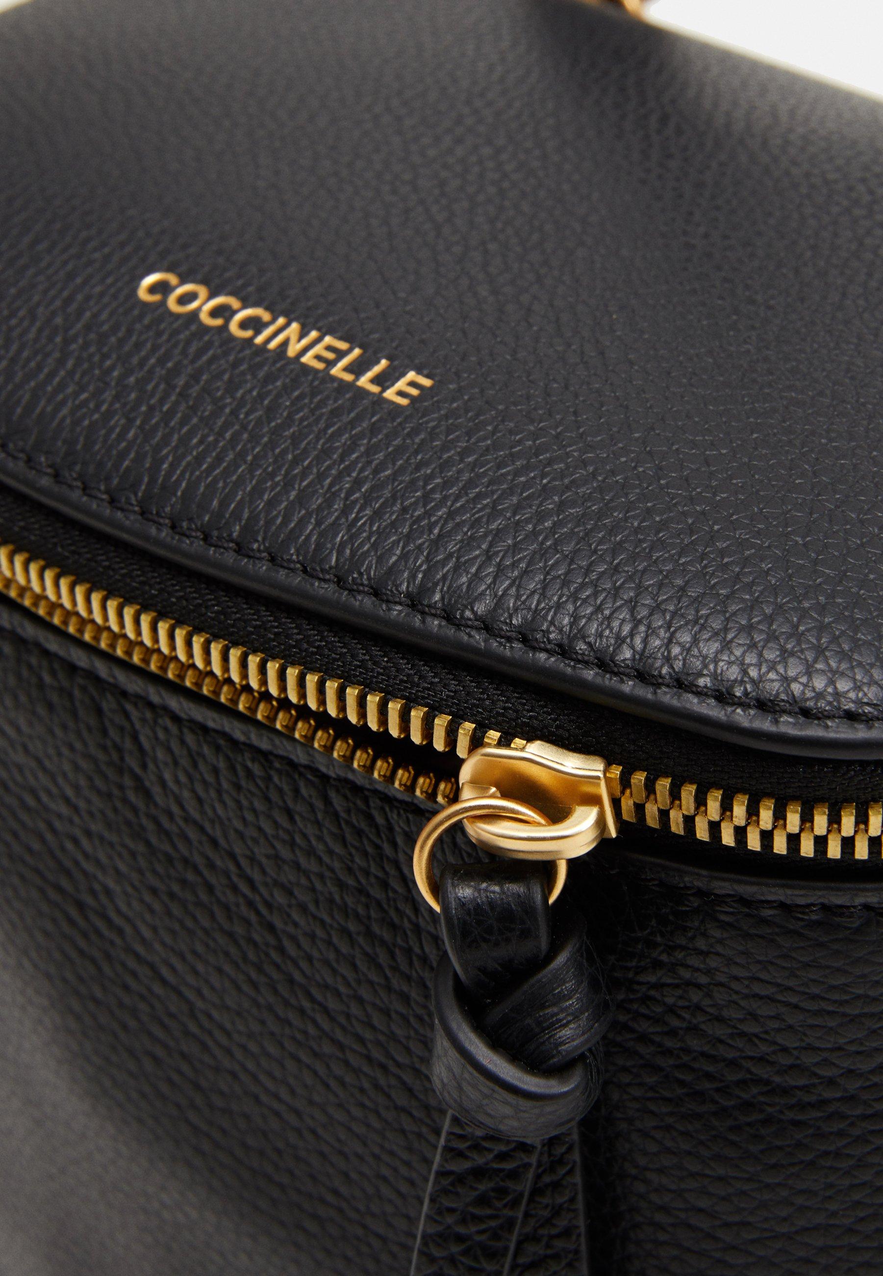 Coccinelle CONCRETE JOURNAL MINI - Ryggsekk - noir/svart QV5S8dDxKsiwJV7