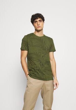 FRIEDMAN - T-shirt z nadrukiem - cypress