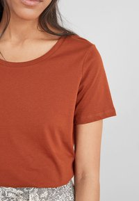 Next - Basic T-shirt - brown - 3