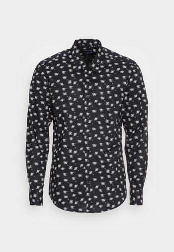 NAPOLI SLIM FIT - Camicia - black