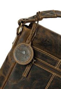 Greenburry - VINTAGE FLAPZIP - Across body bag - brown - 3