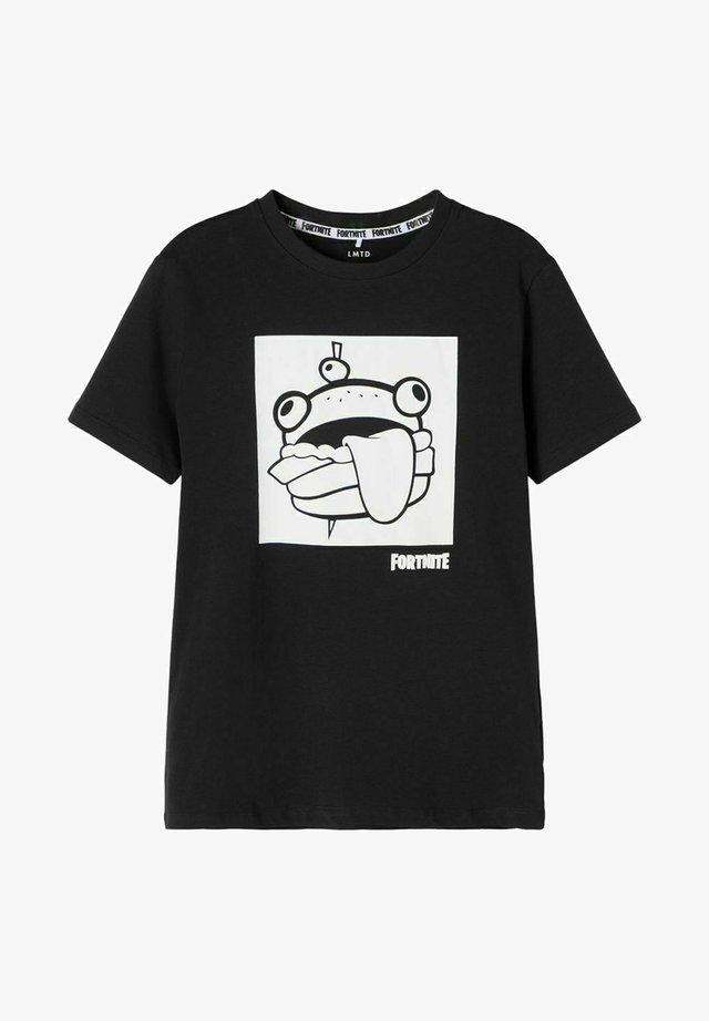 FORTNITE - T-shirt con stampa - black