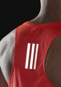 adidas Performance - OWN THE RUN SINGLET - Sports shirt - red - 3