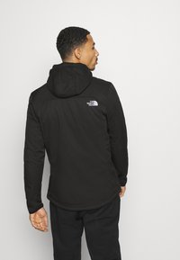 The North Face - QUEST HOODED - Soft shell jacket - tnf black - 2