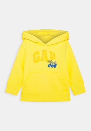 TODDLER BOY COOL - Bluza z kapturem - bright lemon meringue