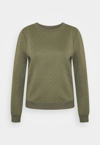 ONLY - ONLJOYCE O-NECK  - Sweatshirt - khaki - 4