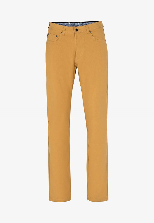 Trousers - ockergelb