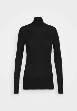 FAVORITE TURTLENECK SPECIAL - Strikpullover /Striktrøjer - black